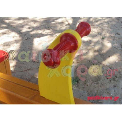 Χερούλια - λαβές τραμπάλας παιδικής χαράς