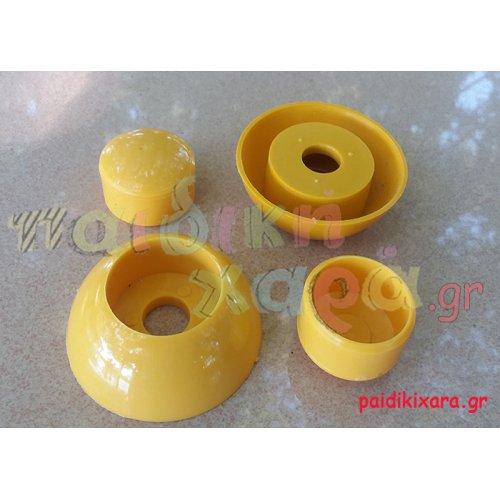 Κάλυμμα βίδας με καπάκι (πλαστικό)