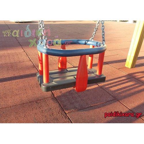 Πιστοποιημένο κάθισμα νηπίων με αλυσίδες