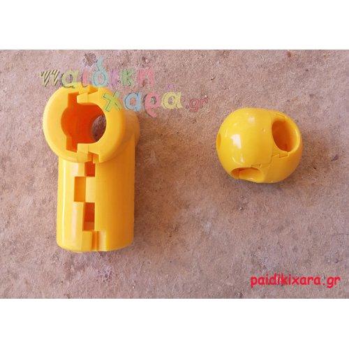 Συνδετήρας σχοινιών - αναρριχήσεων παιδικών χαρών (ενδιάμεσο - ακριανό)