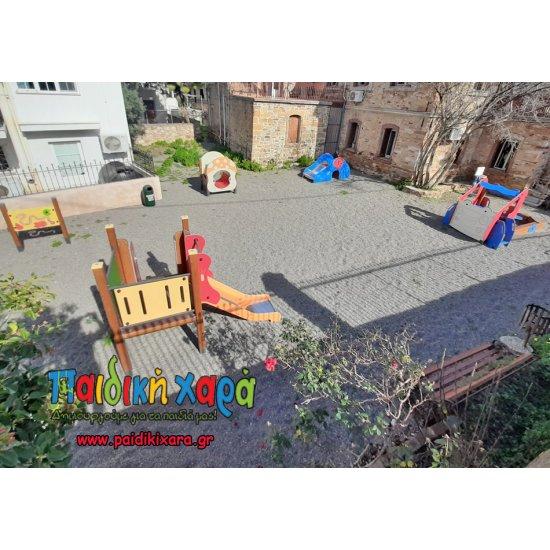 Τσουλήθρα νηπίων - παίδων HPL (κατάλληλο για παιδικούς σταθμούς)