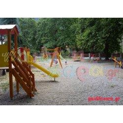 Παιδική χαρά σε κέντρο πόλης Δήμου Καλαβρύτων