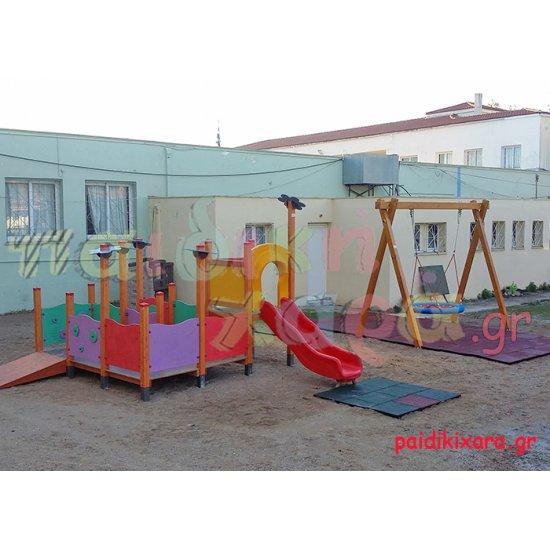 Παιδική χαρά με όργανα ΑΜΕΑ - παιδιών στον Νομό Ηλείας