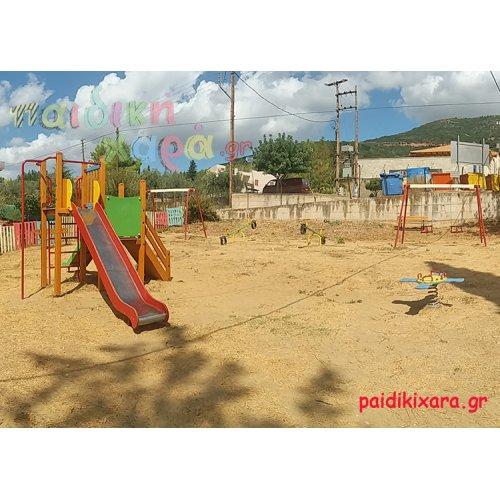 Παιδική χαρά για παιδιά και νήπια σε οικισμό στον νομό Αχαϊας