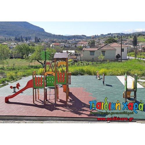 Νέα παιδική χαρά σε χωριό του νομού Κορινθίας