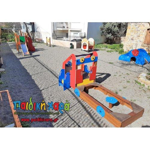Νέα πιστοποιημένη παιδική χαρά σε παιδικό σταθμό στην Χίο