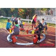 Μύλος - ποδήλατο παιδικής χαράς 6 ατόμων