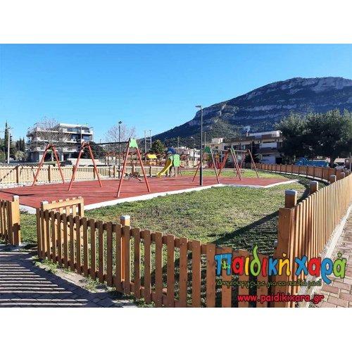 Νέα παιδική χαρά στην Πελοπόννησο